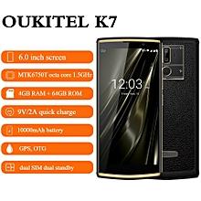 Oukitel K7 6.0 inch 4G Phablet 4GB RAM + 64GB ROM 10000mAh