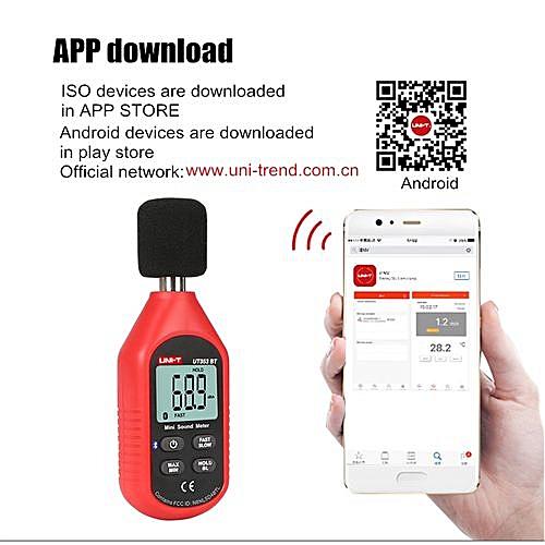 Digital LCD Device Sound Pressure Level Decibel Noise Meter Tester  Measurement