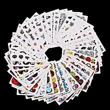 bluerdream-1Set Women Nail Art Nial Sticker Halloween Designs Girl Beauty Nail Tools-As Shown