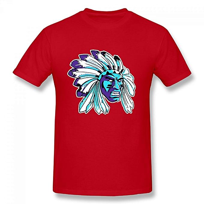 67ae85463a9d0e Generic Jordan 5 Black Grape Apache Men s Cotton Short Sleeve Print T-shirt  Red