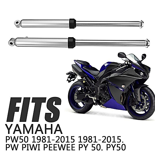 2pcs/set Leg Fork Set Assembly Front Forks Shocks For Yamaha PW50 1981-2015  PW Piwi Peewee PY 50  PY50 Bike Motorcycle Part
