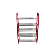 Portable Shoe Rack / Home Organizer-Red
