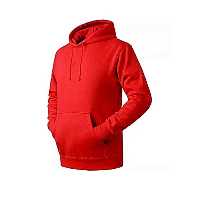41d62cb0ec Generic Plain red cotton designer hoodie @ Best Price Online | Jumia ...