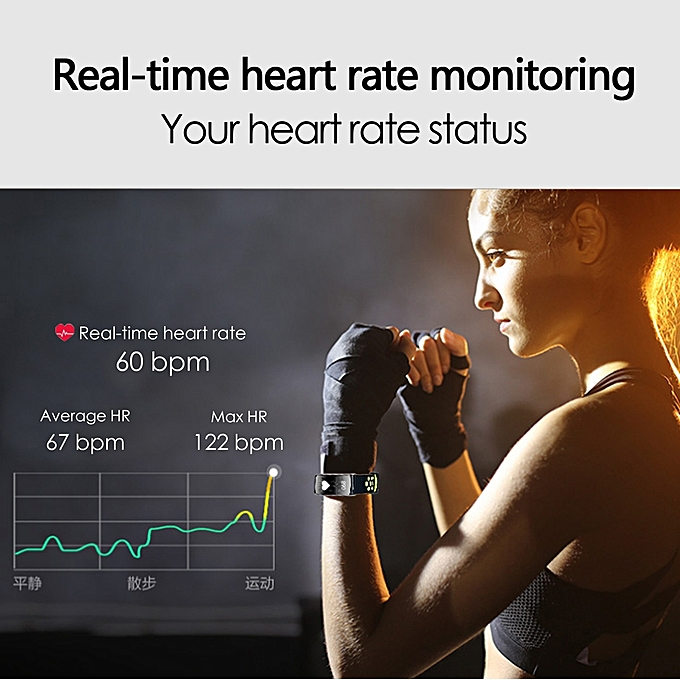 ... Q8 Smart Band IP68 Waterproof Smart Wristband Heart Rate Smartband Fitness TrackerSmart Bracelet Wearable Devices Watch ...