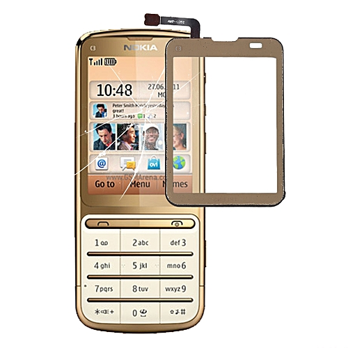 Touch Panel for Nokia C3-01(Gold)