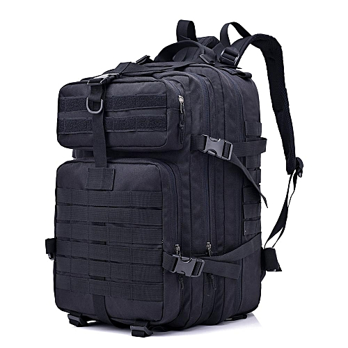 afea02e09ea4 Lixada 40L Assault Pack Army Molle Bug Out Bag Travel Backpack for Outdoor  Hiking Camping Hunting