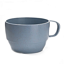Wheat Straw Tea Cup Literature And Art Environmental Protection - Blue