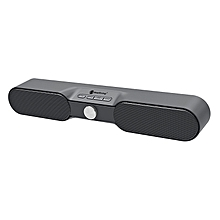 Bluetooth Speakers, 10W Portable Wireless Speakers Computer Speaker (Gray)