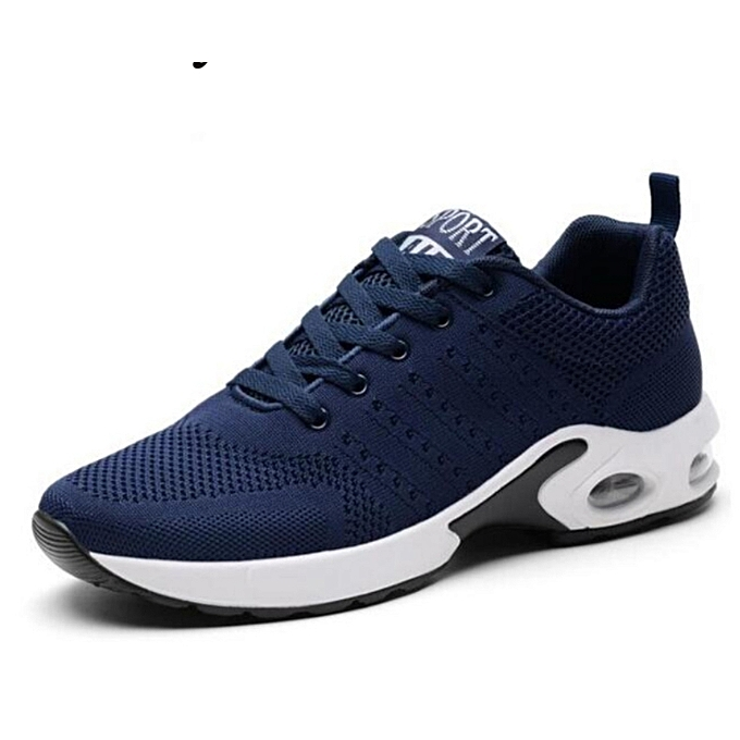 Men Running Shoes Breathable Outdoor Male Sneakers Light Jogging Adult Athletic  Sneakers-Blue 9705a97a18d5