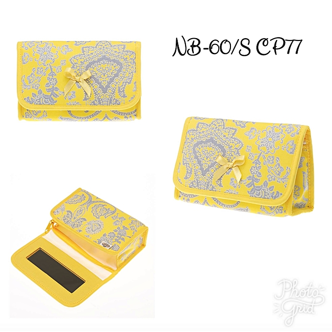 Buy Generic Yellow Cosmetic purse with mirror   Best Price   Jumia Kenya 7ca2c9f6f2e