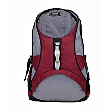 SHB11056 - Backpack - Red & Grey