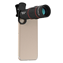 Apexel APL-18XTZJ 18X Telescopr Monocular Lens with Clip for Mobile Phone Tablet Photography
