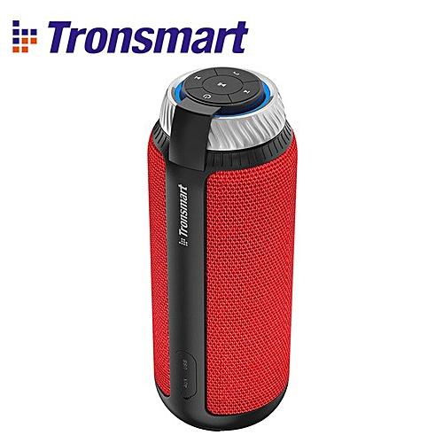 Tronsmart Element T6 Speaker Gift Column Box Speaker 25W Outdoor Mini Music  Subwoofer Portable Speakers (Red T6 Speaker) LANGL