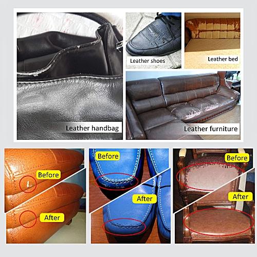 Liquid Leather Auto Car Seat Sofa Coats Holes Scratch Cracks Rips No Need Heating Vinyl Repair