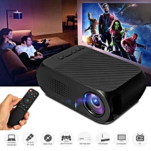 Mini Portable Home Cinema LED 3D Projector Multimedia Wireless Theater HDMI USB EU Plug