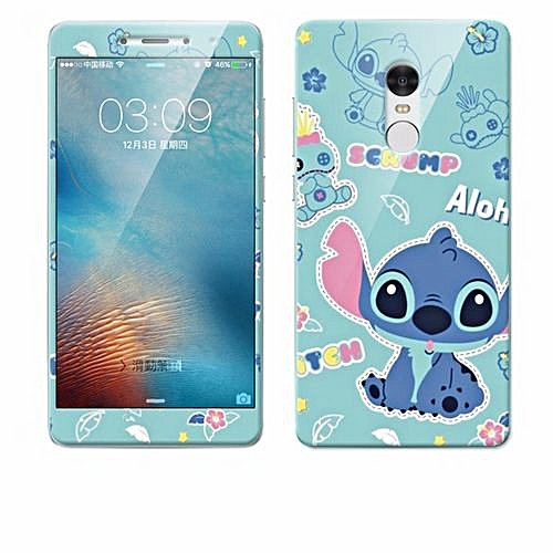 Luxury 3D Painting Front+Back Full Case Cover Color Tempered Glass Case For Xiaomi Redmi