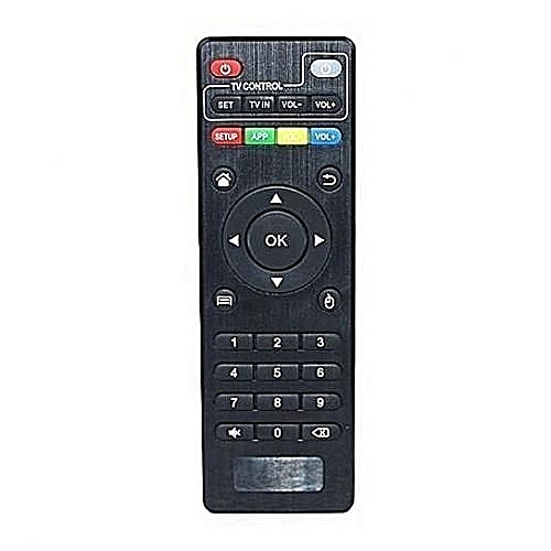 Android Box Replacement Remote Control for Amlogic Chipset Android Box - Black