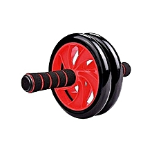 double wheel roller -black-red