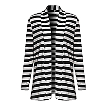 5b54cbfe27 ZANZEA Oversized Fashion Women Autumn Striped Cotton Outwear Lady Long  Sleeve Patch work Slim Thin Cardigan
