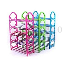 Portable Shoe Rack - Blue