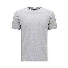 Grey Plain T-Shirt