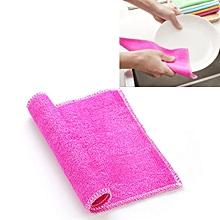 20 PCS Bamboo Fiber Anti-Grease Dish Washing Cloth Towels