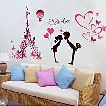 New Flower Fairy DIY Little Angel Fairy Stickers Bedroom Living Room Walls-Multicolor