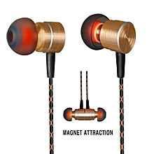 QKZ X36 3.5mm Magnetic In-ear Headphone Super Bass Music Earphone With Mic PRI-P