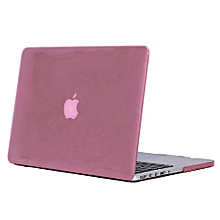 """15"""" Pro With HDMI Port Case, Crystal Hard Rubberized Cover For 2012-2015 Macbook 15.4 Retina, Pink"""