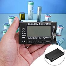 LCD Digital Battery Capacity Tester Checker Controller For Lipo LiFe Li-ion NiMH