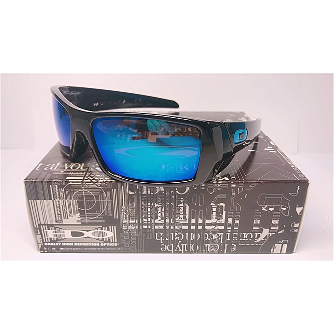 3dc8e093ab Sunglasses Gascan Bright Black Frame Oakley Polarized Blue Mercury Lenses