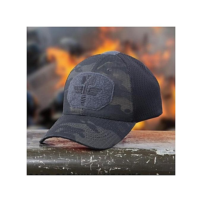 2819a0ebc Multicam Camo Outdoor Tactical Cap Military Hunting Hiking Baseball Hat 4  Colors