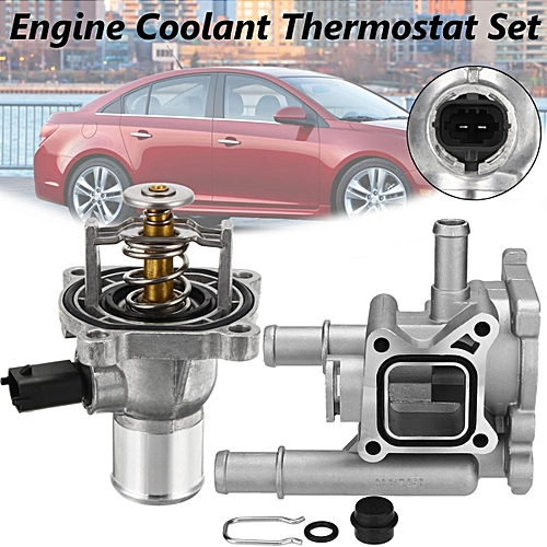 Engine Coolant Thermostat with Housing Set For Chevrolet Cruze Vauxhall  Astra