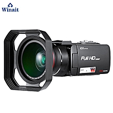 """3.0""""Touch LCD Display Wireless Digital Video Camera HD 1080P 32GB Memory Remote Control Professional HDV Video Camcorder HDV-Z80 LOOKFAR"""