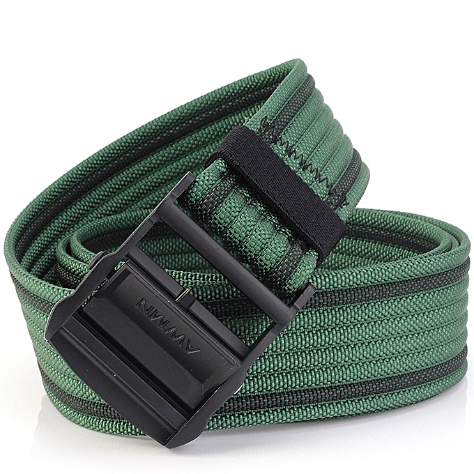 AWMN S02 120cm Belts for Men Women Camouflage Belt Military Tactical Belt  Buckle Hanger Leisure Camp