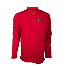 Long sleeve polo tshirt