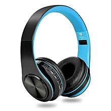 Over Ear Bluetooth Headphones,  Wireless Headphones(Blue)