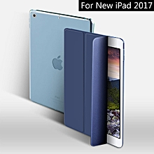 Case for New iPad 9.7 inch 2017 PU Smart Cover Case Magnet wake up sleep For New iPad 2017 model A1822 A1823 Mll-S