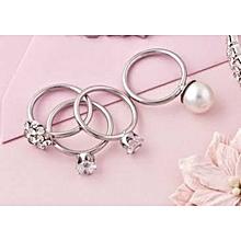4 Pair Ring Set