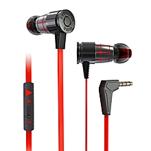 Plextone G25 Gaming Earphone 3.5mm Jack Heavy Bass Headphone with Mic for Phone Computer PC
