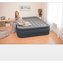 Inflatable Bed - Grey & Black