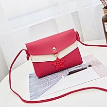 koadong shop Women Hit Color Shoulder Bag Messenger Satchel Tote Crossbody Bag Phone Bag