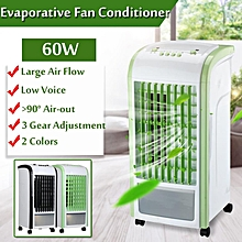 60W Evaporative Fan Conditioner Air Cooler Humidifier Cooling Refrigiration