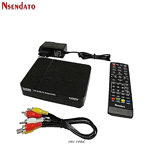 Digital Terrestrial Dvb T2 Dvbt2 Television Receiver Dvb-T2 H 264 Hdmi  Box-Top Box For Europe/Russia/Thailand Supporting Youtube Wifi