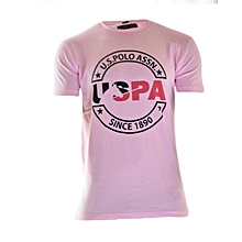 Pink Short Sleeved T-shirt Limited Edition
