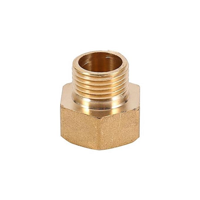 Buy universal pc brass water pipe hex bushing reducer
