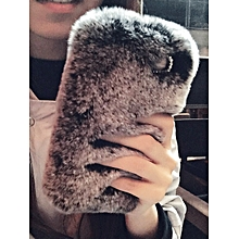 Iphone 8/8 Plus/7/7 Plus/6S/6S Plus/6/6 Plus Phone Cover Soft Fluffy Design Case____IPHONE 6/6S____black&grey