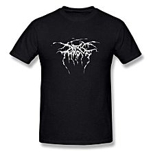 Darkthrone Transilvanian Hunger 1994 Album Cover Inspired Fashion Printed Sportswear Tees High Quality Cotton Round Neck Tops