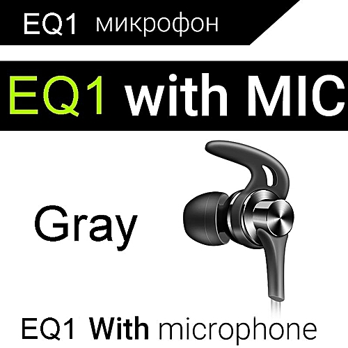 Earphone QKZ EQ1 Zinc Alloy s HiFi Earphone fone de ouvido Headset auriculares audifonos BASS Metal DJ 4 colors EQ1 PRI-P