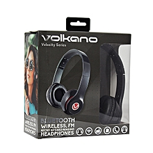 Velocity Series Bluetooth Headphones - Black